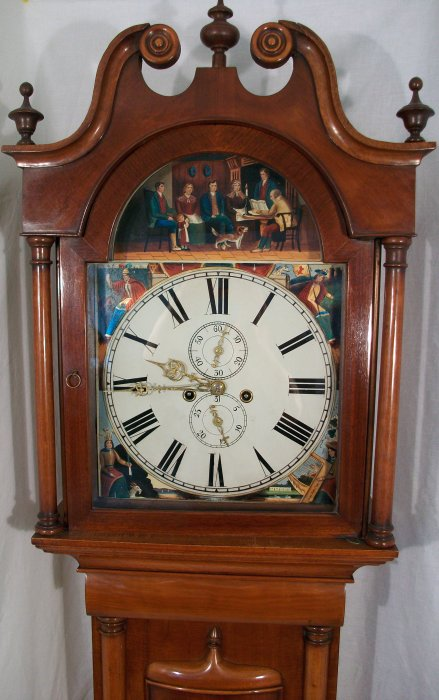 dating grandfather clock movements Clock movements are generally secured to the clock with screws but many older british grandfather clock movements are not below showing how to oil a clock's.