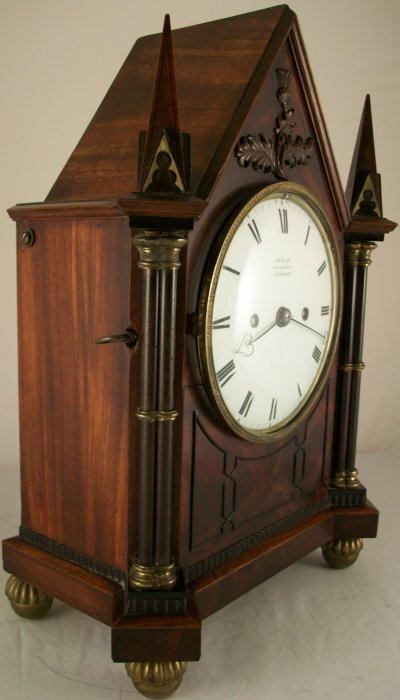 Small Antique Bracket Clock With Wall Bracket Ian Burton